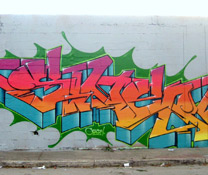 2007 LA River Graff Jam &amp; Getting Up Documentary
